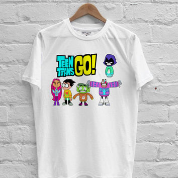 Teen Titans Go! team T-shirt Men, Women Youth and Toddler