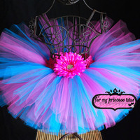Cotton Candy Tutu by formyprincesstutus on Etsy