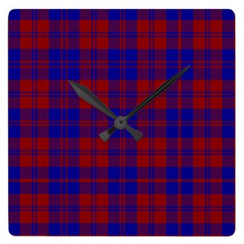 MacGregor of Deeside Square Wall Clock