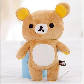 "1pcs 8"" mini lovely New brown San-x Rilakkuma Relax Bear Cute Soft 20cm plush stuffed toy"