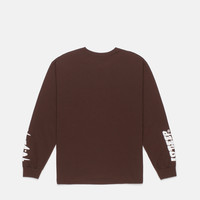 SOUND & FURY LONGSLEEVE SHIRT - CHOCOLATE BROWN | 10.Deep® Clothing