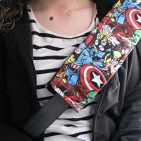 Marvel Comic Seatbelt Cover, Car Accessorie