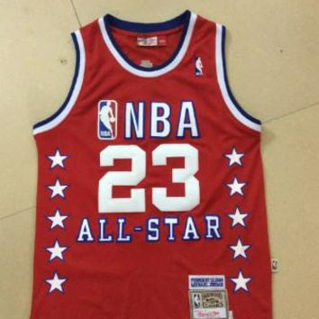NBA Chicago Bulls #23 Michael Jordan 1989 All Star Swingman Jersey