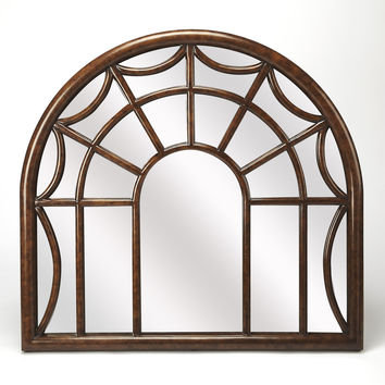 Butler Georgia Arched Window Pane Wall Mirror 4306354