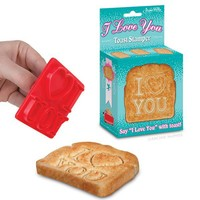 I Love You Toast Stamper - Whimsical & Unique Gift Ideas for the Coolest Gift Givers