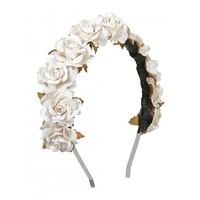 Rock N Rose | Rock N Rose LILIBETH Rose Crown Headband at Spoiled Brat