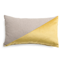 Made In Usa 14x24 Linen And Velvet Pillow - Printed Pillows - T.J.Maxx