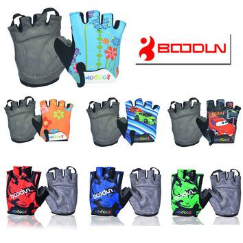 CHILDREN KIDS PADDED CYCLING BICYCLE BIKE CYCLING BMX GLOVES RACING RIDING M L