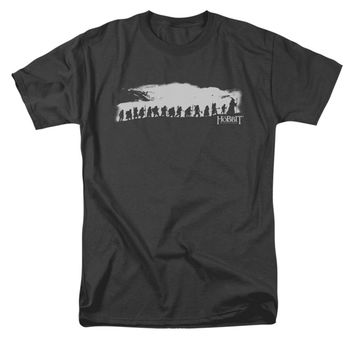 The Hobbit Men's  The Company T-shirt Black Rockabilia