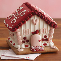 Valentine's Day Cookie House | Gourmet Cookie Gifts