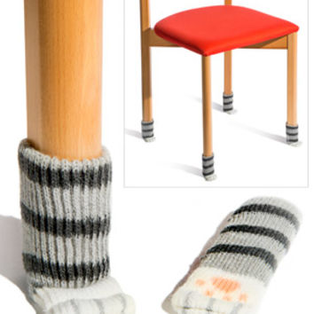 Cat Paw Chair Socks: Socks for the legs of your chairs
