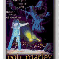 Bob Marley- Songs of Freedom Poster
