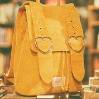 Madeline Backpack (Mustard)