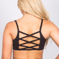 Adjustable Crossback Sports Bra