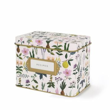 Herb Garden Recipe Box by RIFLE PAPER Co.   Imported