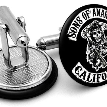Sons Of Anarchy Logo Cufflinks