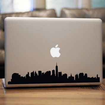New York Skyline Decal For Car Windows Laptops by urbandecal