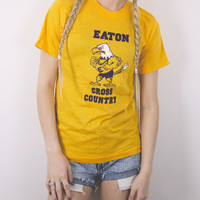 Vintage Eaton Cross Country Eagle T Shirt