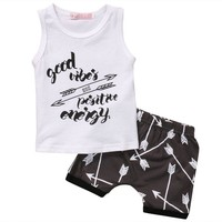 Baby Boys Arrow T shirt  Shorts  summer sets