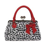 """""""Lucky 13 Pony Purse"""" Bag Leo White - Pin Up Accessories"""