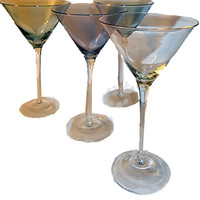 SOLD OUT...Iridescent Martini Glasses