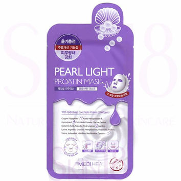 Mediheal Pearl Light Proatin Masks