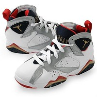 NIKE AIR JORDAN 7 RETRO LITTLE KIDS 304773-135 SIZE 13