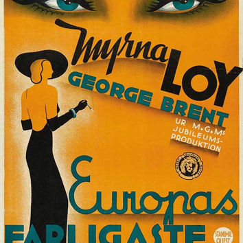 Stamboul Quest (Swedish) 11x17 Movie Poster (1934)