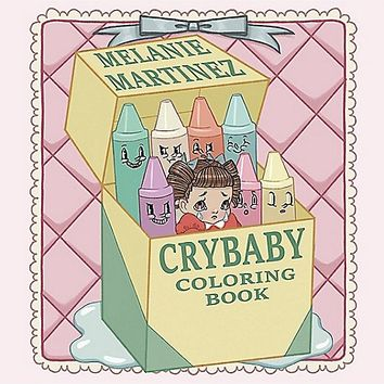 Melanie Martinez Crybaby Coloring Book - Spencer's