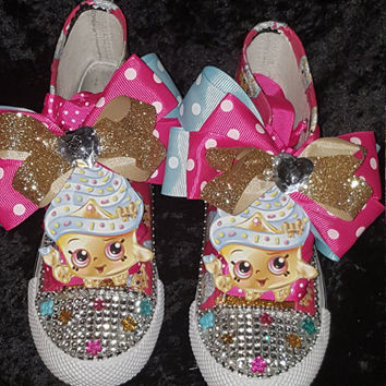 Limited Edition Shopkins Pink Inspired Shoe (NON-CONVERSE)