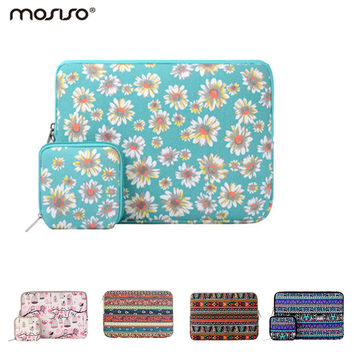 Mosiso 13.3 inch Laptop Sleeve Case Bag for Macbook Air Pro 13 inch Asus Acer  Chromebook Bohemian Women Notebook Handbag