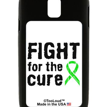 Fight for the Cure - Lime Green Ribbon Lyme Disease Galaxy Note 3 Case  by TooLoud