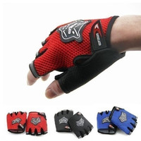 Weight Lifting Fitness Anti Slip Workout  Half Finger Gloves
