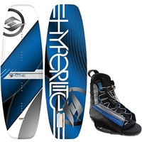 Hyperlite Motive Wakeboard 140 Mens + Hyperlite Spin Bindings Sz 8-13