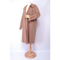 Vintage Cashmere Wrap Coat Bernard Altman Regal Cashmere National Recovery Board Camel Clutch Coat