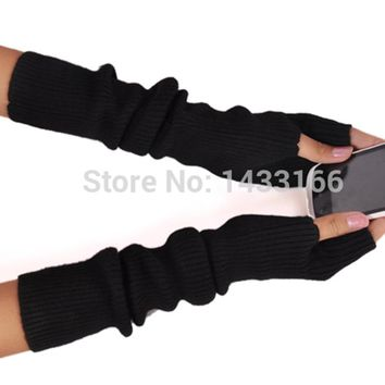 BELIARST 2017 New Winter Long Section Of Wool Fingerless Gloves Hot Color Can Be Customized Authentic Free Shipping sleeve