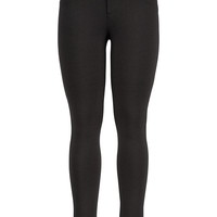 The Skinny Knit Smart Pant - Black