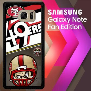 49Ers W3374 Samsung Galaxy Note FE Fan Edition Case
