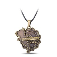 Detective Conan Bronze Metal Alloy Necklace