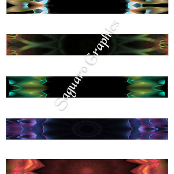 KALEIDOSCOPE ART - Etsy Banners, Thank You Notes, Avatar, Bookmarks, Arts & Crafts sg149