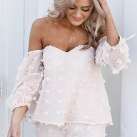 Going Places Blush Romper