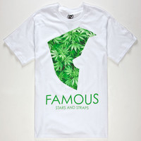Famous Stars & Straps Medicinal Mens T-Shirt White  In Sizes