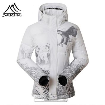 High Quality Winter Outdoor Skiing Jacket for Women Female Snowboarding Jacket Winter Breathable Windbreaker Waterproof Coat