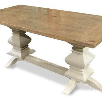 Weathered Fancy Farm Table