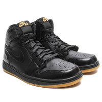 Air Jordan 1 Retro High OG (Black/Gum) - Black
