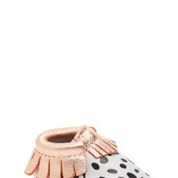 Freshly Picked Dalmatian Moccasin (Baby & Walker) | Nordstrom