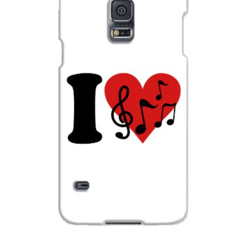 I love Music  - Samsung Galaxy S5 Case