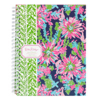 Lilly Pulitzer Mini Notebook-Trippin and Sippin