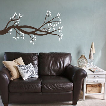 Tree Branch Wall Decal | Tree Wall Sticker | Nature Decor | Tree Vinyl Wall Decal