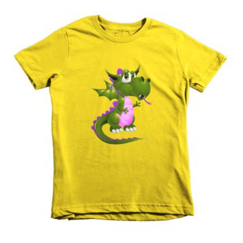 Draco Green Purple Short sleeve kids t-shirt